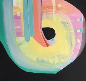 CYCLICAL (2017), 90 x 90 cm, $2200.